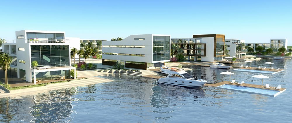 The Properties Will Have Private Berths And Pools
