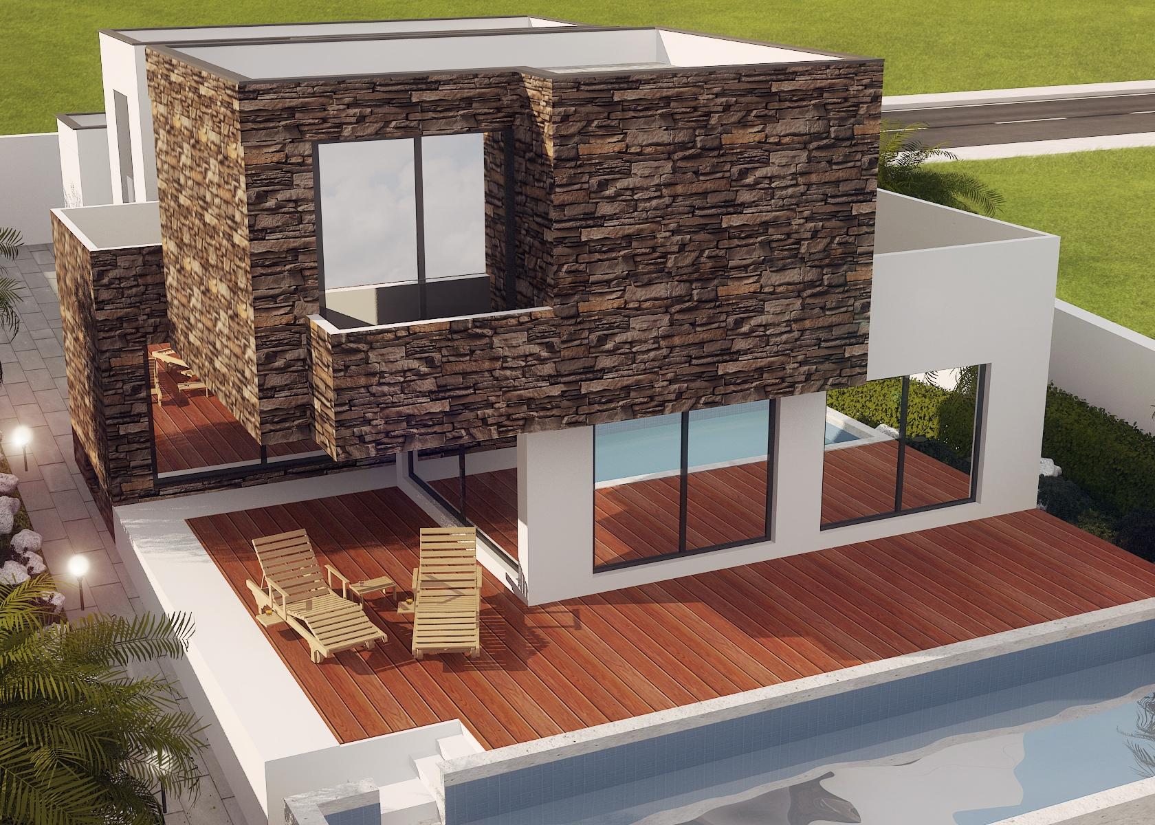 Modern Contemporary Design Villa In Beautiful Surroundings