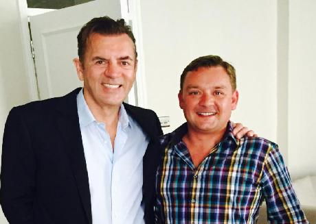 Duncan Bannatyne and Chris White